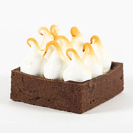 Sweet canape-Lemon Meringue  Tartelette