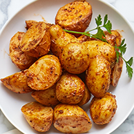 Roasted Chat Potatoes