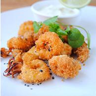 Calamari - Cassava Crumbed
