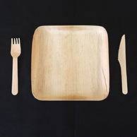 Upgrade for Eco Plates & Cutlery