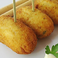 Sweet Corn and Cream Cheese Croquettes