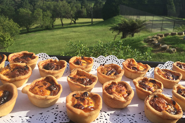 Goat's Cheese & Caramelised Onion Tarts