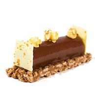 Platted Dessert- Salted Caramel & Popcorn